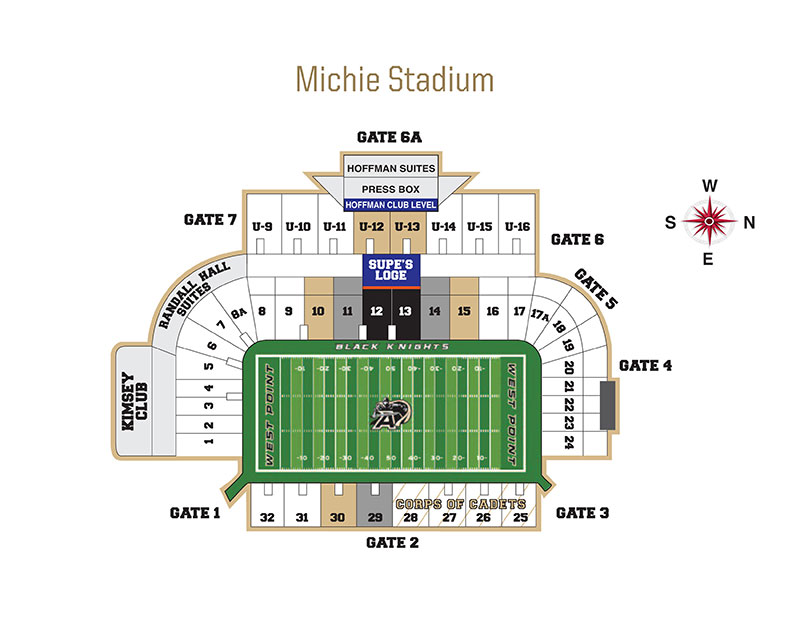 Army Online Ticket Office Seating Charts